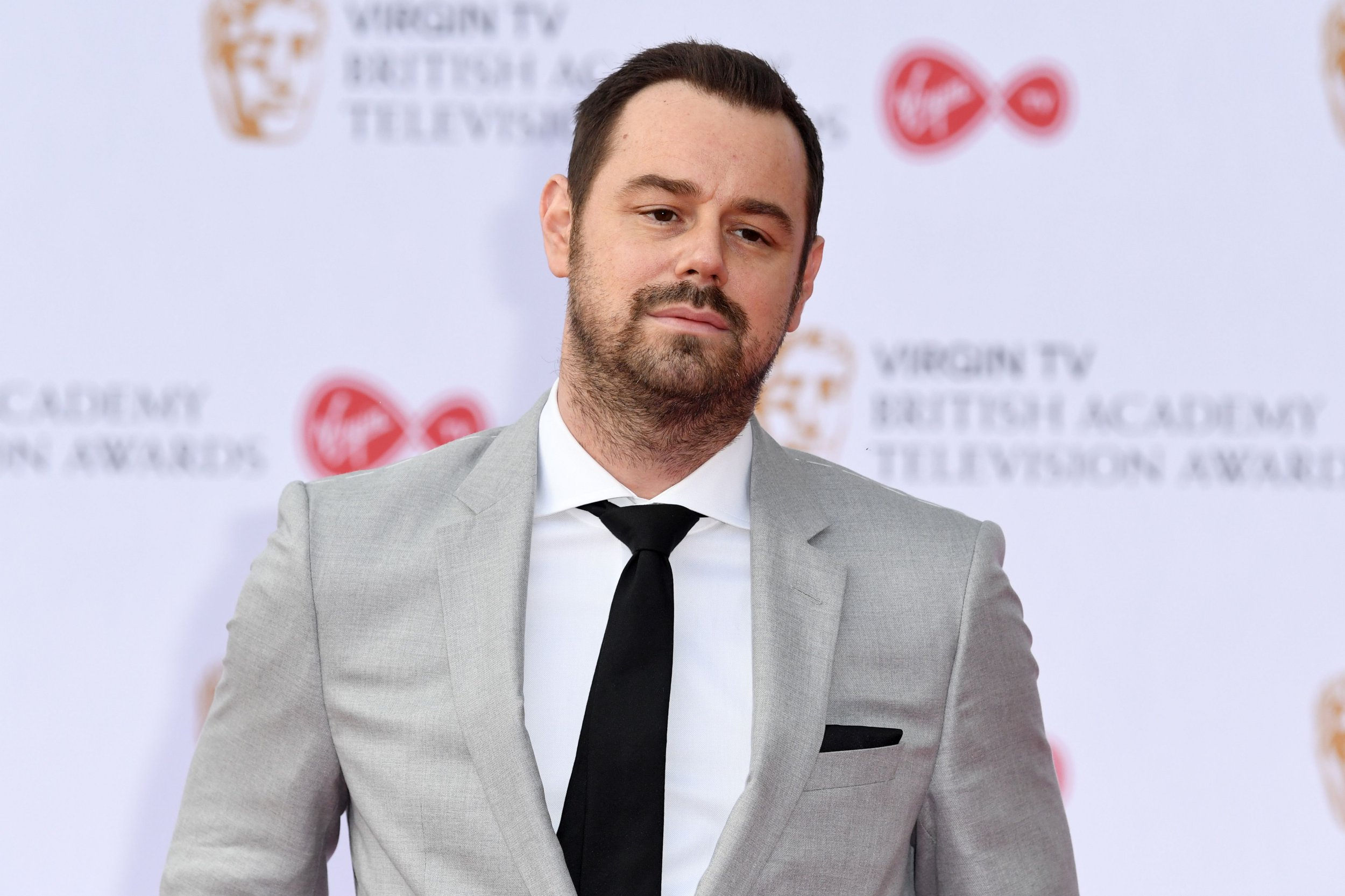 Mandatory Credit: Photo by James Gourley/REX/Shutterstock (8819354eb) Danny Dyer Virgin TV British Academy Television Awards 2017, Arrivals, Royal Festival Hall, London, UK - 14 May 2017