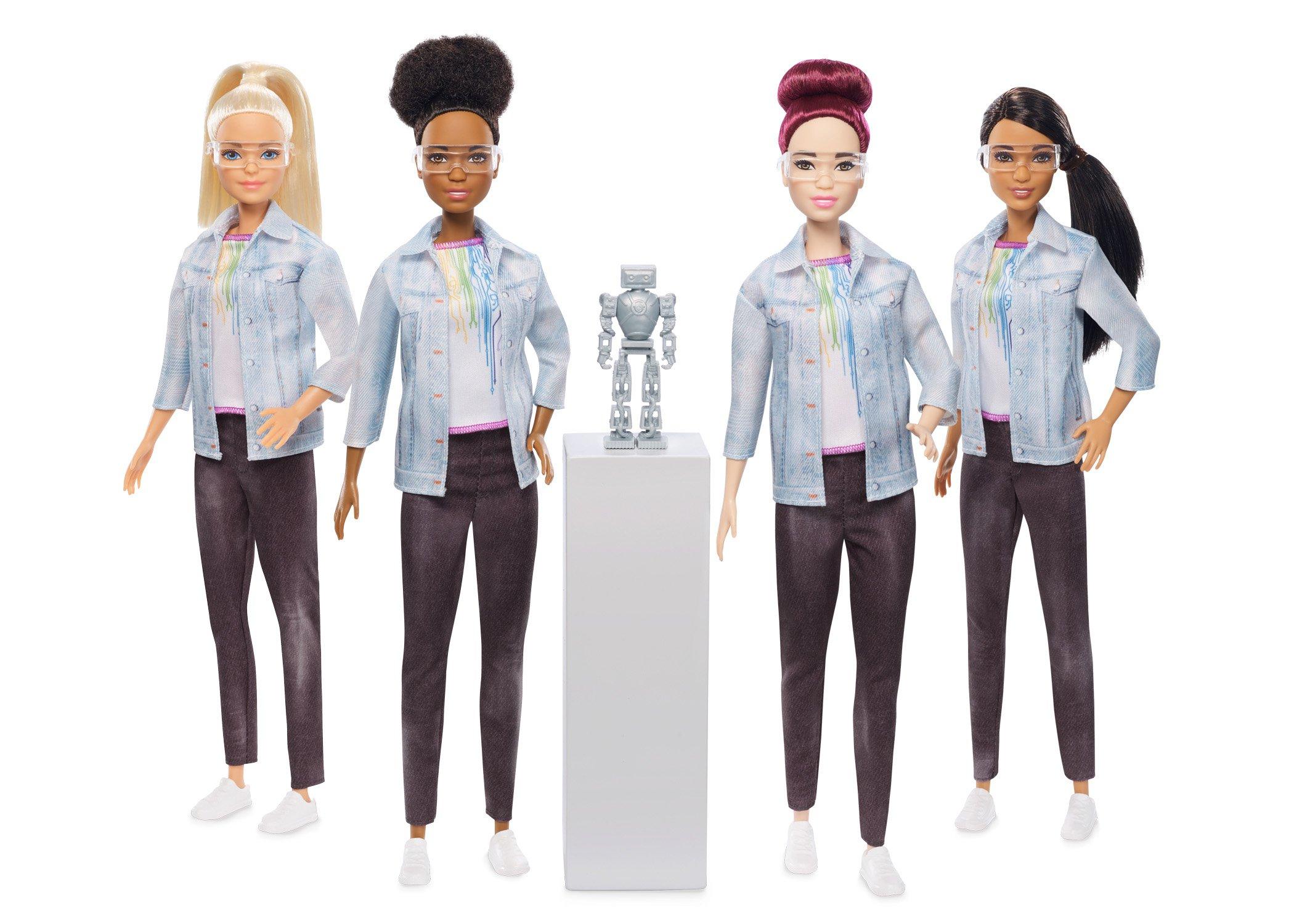 Mattel launches a robotics engineer Barbie