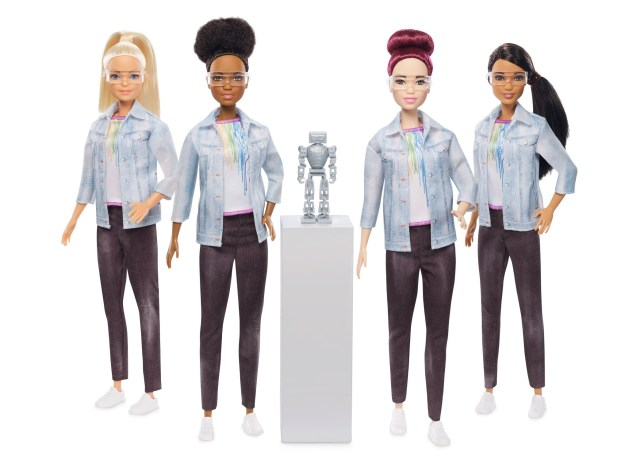 Mattel Just Launched a Robotics Engineer Barbie