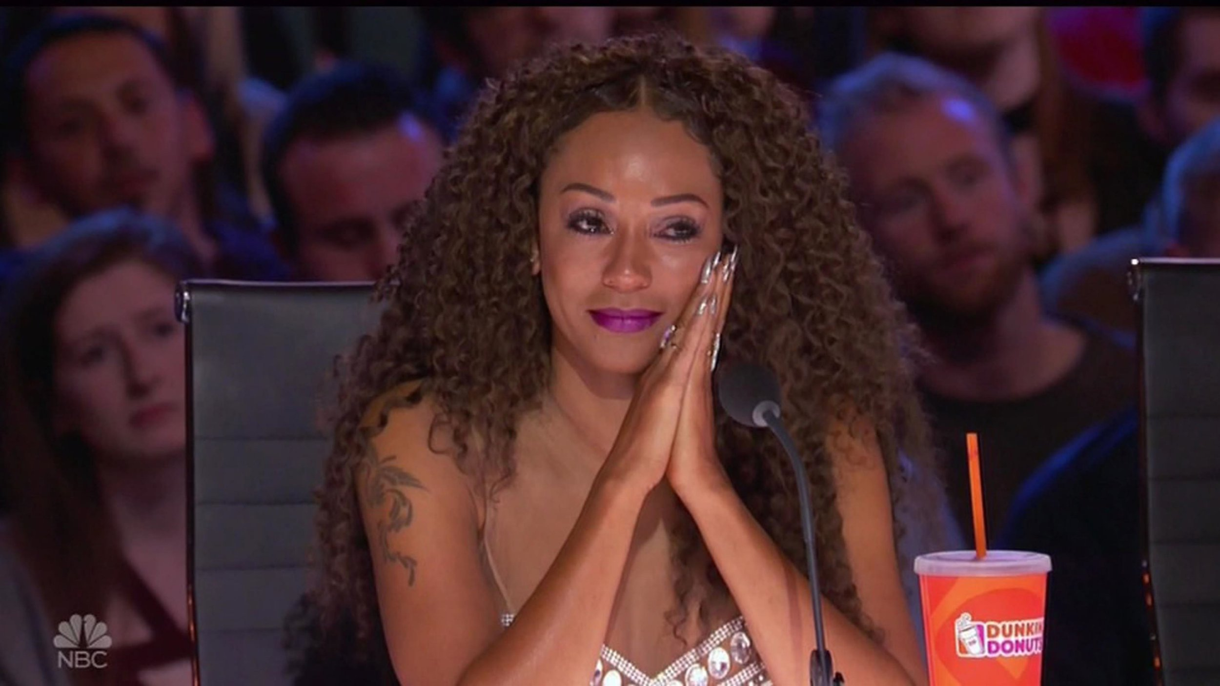 "BGUK_1274426 - ** RIGHTS: WORLDWIDE EXCEPT IN UNITED STATES ** Los Angeles, CA - Mel B chokes back tears during America's Got Talent audition by transgender singer Brody Ray. Brody left Mel B with tears in her eyes during his powerful performance about his transformation. Bearded crooner Brody, from Nebraska, had already moved the judges with his story of 'struggles and battles' growing up as a girl named Natalie until transitioning in 2010, saying: ""It was the start of my life."" He then left the audience enthralled and earned a huge ovation with his performance of Jordan Smith's Stand In The Light, clearly relating to his own story as he sang: ""This is who I am inside, this is who I am and I'm not gonna hide??? just stand in the light and be seen as we are."" Brody, a home care helper for people with special needs, burst into tears at the overwhelming response, including all four judges standing for ovation, telling them: ""It's just been a long road to get here."" Former Spice Girl Mel had watched the performance with tears in her eyes and a giant smile, telling him after: ""I think your soul comes out when you sing because I can actually feel and hear your passion."" Howie Mandel told Brody he had 'a really amazing story that's inspirational,' and clearly moved Brody again when he referred to the lyrics and told him: ""You're right now standing in the light."" Simon Cowell also called him 'inspirational,' and insisted: ""You've got an amazing voice. I really like you, you're a great guy."" Recommending he take on his own material rather than covers, he predicted: ""I actually think you could be a force to be reckoned with, I do."" Heidi Klum had a similar message, calling him 'absolutely incredible' and stressing: ""Everyone was on their feet - you're going to go very, very far I think."" Brody punched the air with joy at the response, and had more tears as host Tyra Banks hugged him backstage and told him: ""I'm just so happy for you."" *BACKGRID DOES NOT CLAIM ANY COPYRIGHT OR LICENSE IN THE ATTACHED MATERIAL. ANY DOWNLOADING FEES CHARGED Pictured: Mel B BACKGRID UK 27 JUNE 2018 BYLINE MUST READ: NBC / BACKGRID *BACKGRID DOES NOT CLAIM ANY COPYRIGHT OR LICENSE IN THE ATTACHED MATERIAL. ANY DOWNLOADING FEES CHARGED BY BACKGRID ARE FOR BACKGRID'S SERVICES ONLY, AND DO NOT, NOR ARE THEY INTENDED TO, CONVEY TO THE USER ANY COPYRIGHT OR LICENSE IN THE MATERIAL. BY PUBLISHING THIS MATERIAL , THE USER EXPRESSLY AGREES TO INDEMNIFY AND TO HOLD BACKGRID HARMLESS FROM ANY CLAIMS, DEMANDS, OR CAUSES OF ACTION ARISING OUT OF OR CONNECTED IN ANY WAY WITH USER'S PUBLICATION OF THE MATERIAL* UK: +44 208 344 2007 / uksales@backgrid.com USA: +1 310 798 9111 / usasales@backgrid.com *UK Clients - Pictures Containing Children Please Pixelate Face Prior To Publication*"
