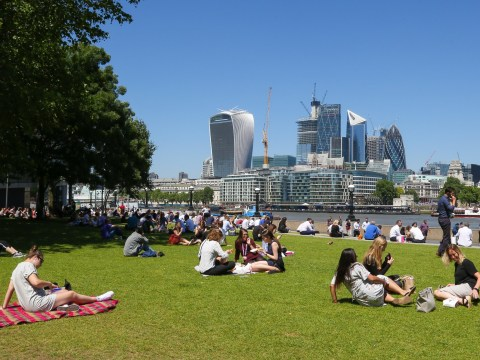 It's officially the hottest day of the year with temperatures hitting 31.9C