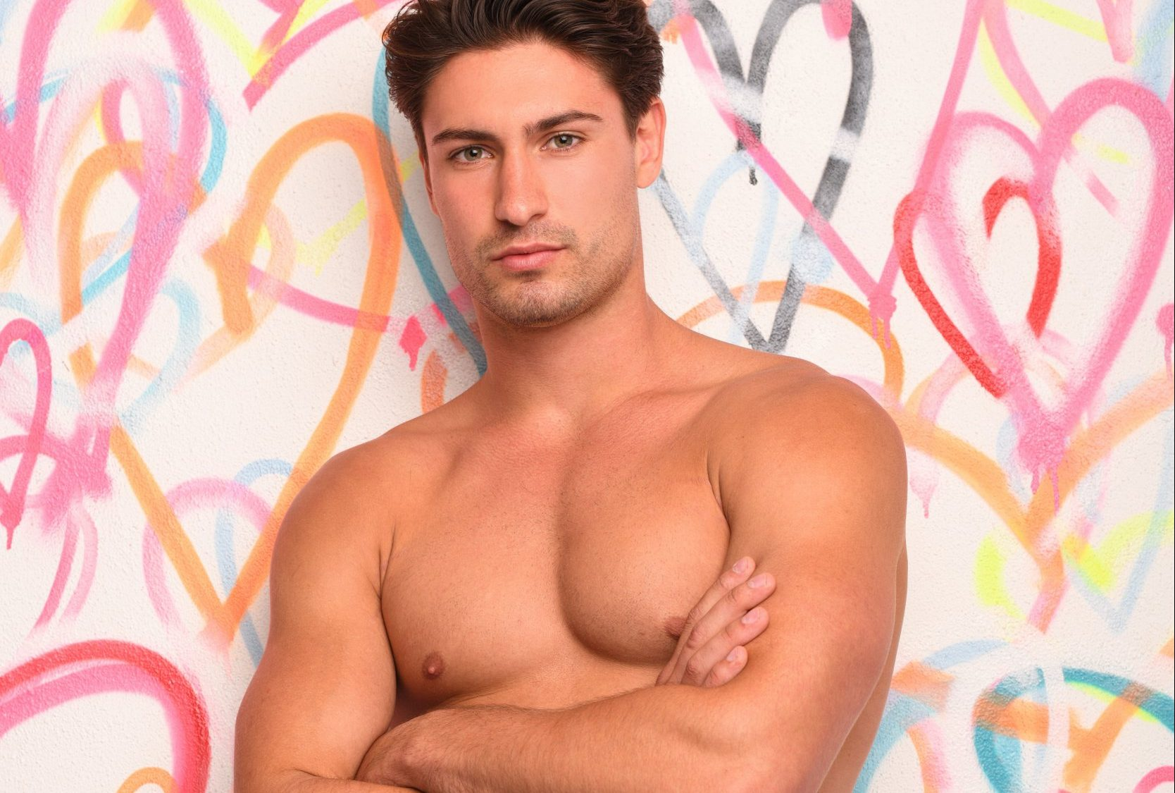 This image is strictly embargoed until 22.05 Wednesday 27th June 2018 From ITV Studios Love Island: SR4 on ITV2 Pictured: Frankie Foster. This photograph is (C) ITV Plc and can only be reproduced for editorial purposes directly in connection with the programme or event mentioned above, or ITV plc. Once made available by ITV plc Picture Desk, this photograph can be reproduced once only up until the transmission [TX] date and no reproduction fee will be charged. Any subsequent usage may incur a fee. This photograph must not be manipulated [excluding basic cropping] in a manner which alters the visual appearance of the person photographed deemed detrimental or inappropriate by ITV plc Picture Desk. This photograph must not be syndicated to any other company, publication or website, or permanently archived, without the express written permission of ITV Plc Picture Desk. Full Terms and conditions are available on the website www.itvpictures.co.uk For further information please contact: james.hilder@itv.com / 0207 157 3052