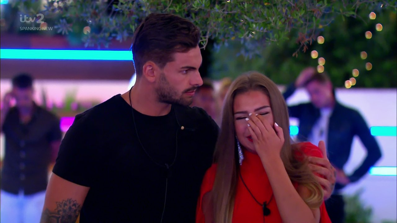 Love Island's Zara McDermott left distressed as she watches Adam Collard move on with Darylle Sargeant