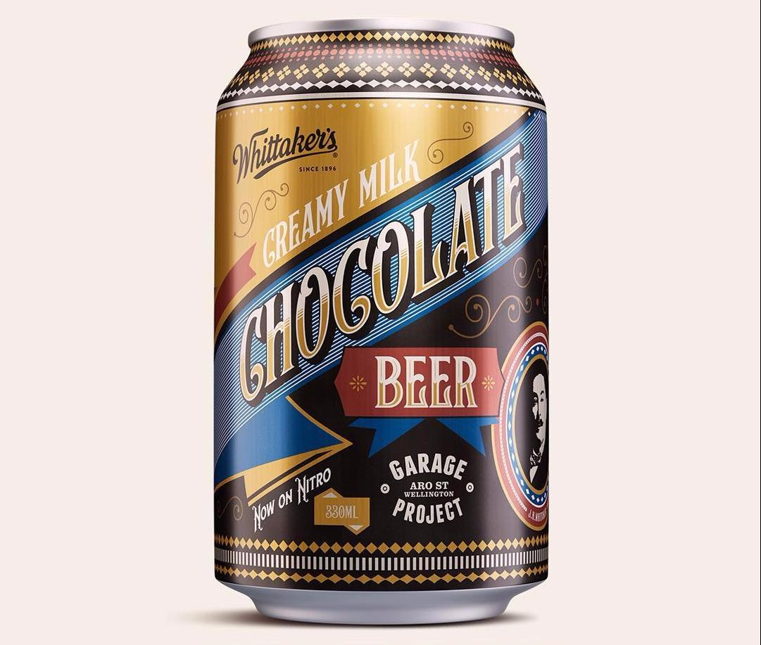 New cocoa infused lager Garage Project/Instagram