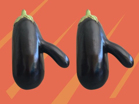 This aubergine is the embodiment of Big D*ck Energy