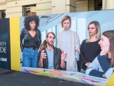 Advert for Australian university accused of 'mansplaining'