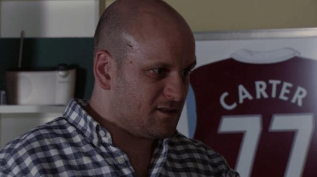 Stuart vows revenge on Mick in EastEnders