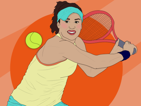 If I can learn to play and like tennis at 28, so can you