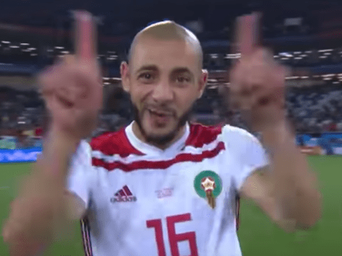 Nordin Amrabat blasts VAR on the pitch after Spain game: It's bullsh**