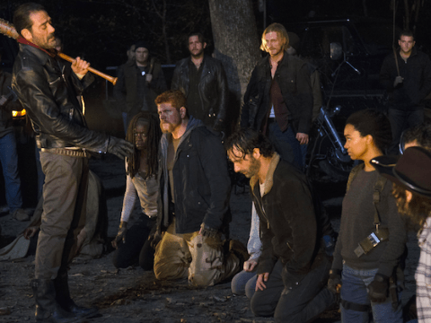 The Walking Dead's Chandler Riggs spills on who Negan killed in deleted scenes