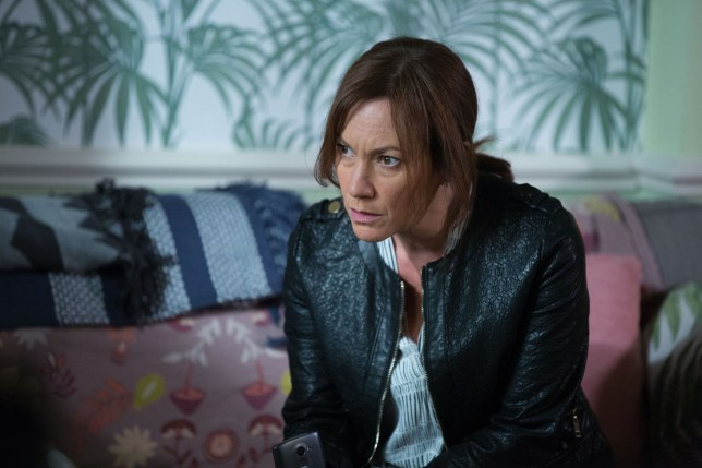 Rainie turns to drugs in EastEnders