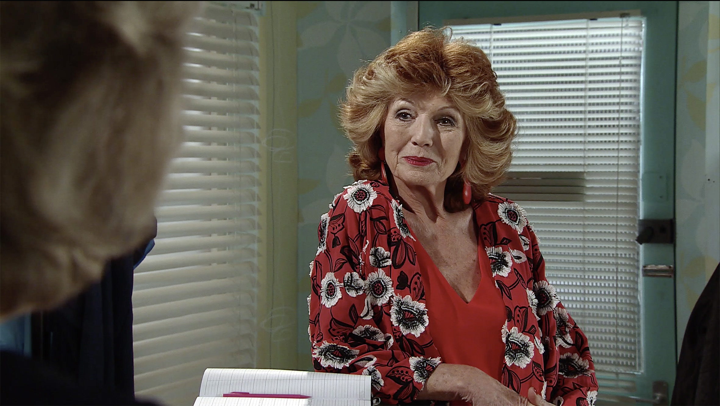 Rula Lenska in Coronation Street