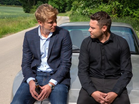 Emmerdale spoilers: Robert Sugden and Aaron Dingle finally engaged after Liv and Chas' plan?