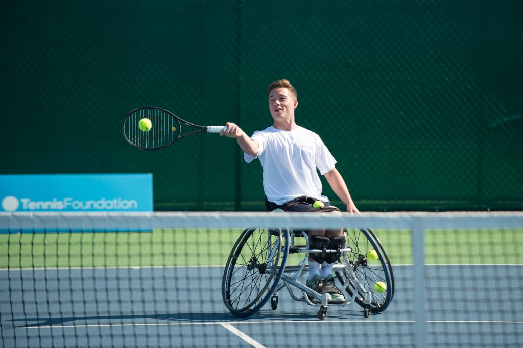 The journey hasn't been easy, but wheelchair tennis is finally having its moment in the spotlight