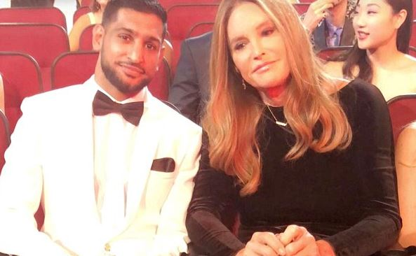 Amir Khan accused of transphobia after calling Caitlyn Jenner 'Bruce'