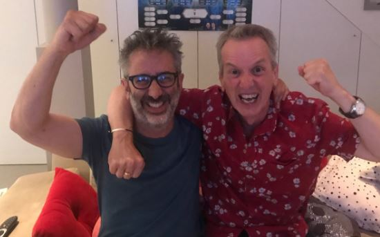 Baddiel and Skinner are all of us as they announce football 'is just about still coming home'