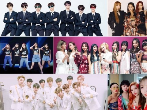 BTS and TWICE named among the most loved K-pop idols for first half of 2018