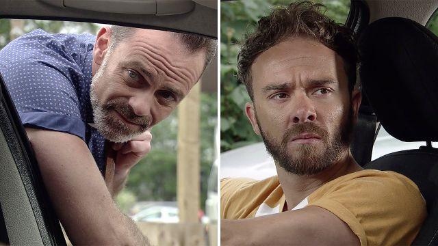 Billy tries to help David in Coronation Street