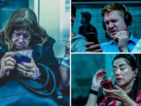 Someone is going around taking secret pictures of you during your commute