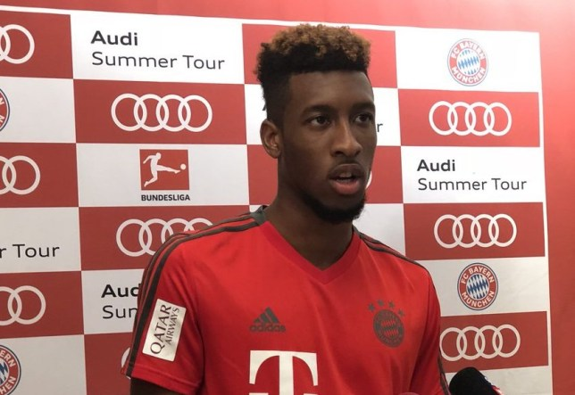 on sale 29b7c 79dfc Arsenal news: Kingsley Coman speaks out on Arsenal transfer ...