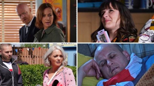 Max, Rainie, Donna, Kandice and Stuart EastEnders spoilers