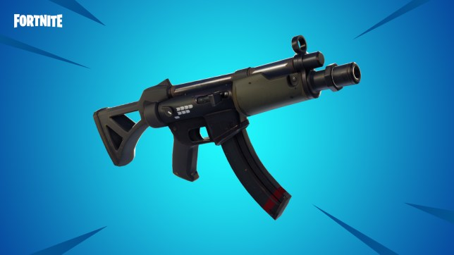 Submachine Gun Added In Fortnite Update And Tactical Smg Sent To