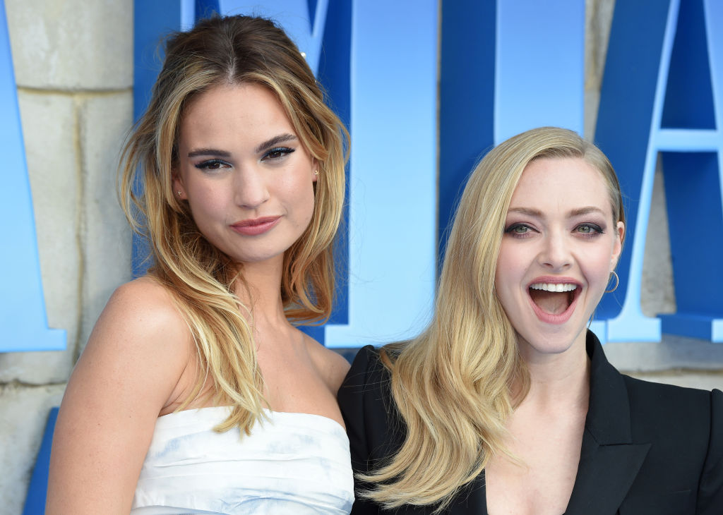 Actresses are 'forcing' Hollywood to play catch up with TV, say Amanda Seyfried and Lily James