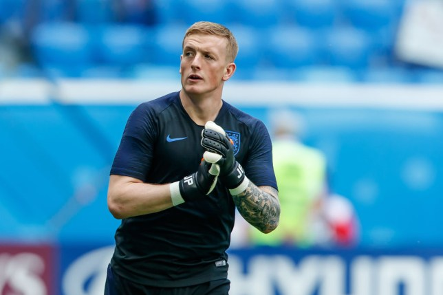2df97c1cbcdb2b Chelsea are interested in signing Jordan Pickford from Everton (Picture   Getty)