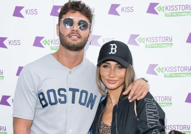 Mike Thalassitis and Megan McKenna