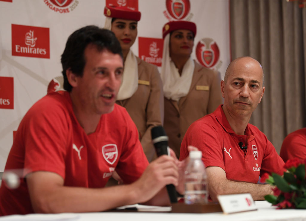 Arsenal insists Ivan Gazidis preparing for new season amid links to AC Milan