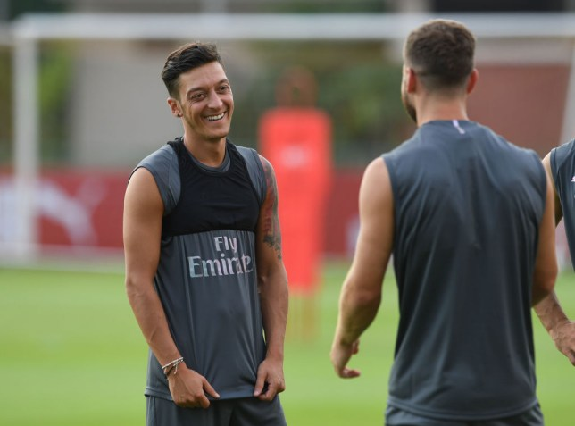 cce3e73af Mesut Ozil has taken over the No. 10 shirt at Arsenal (Picture  Getty)