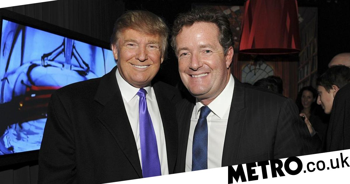 Piers Morgan taunts Trump protesters as he announces another interview