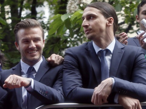 David Beckham and Zlatan Ibrahimovic strike unusual bet ahead of Sweden vs England World Cup clash