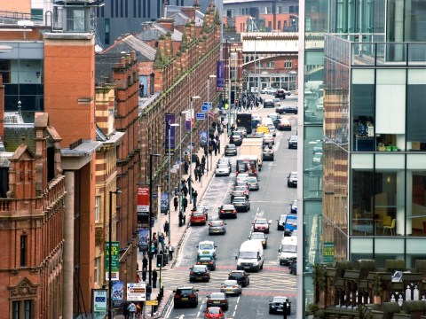 Four teenagers arrested after 30 crimes are reported in Manchester City Centre in just 4 days