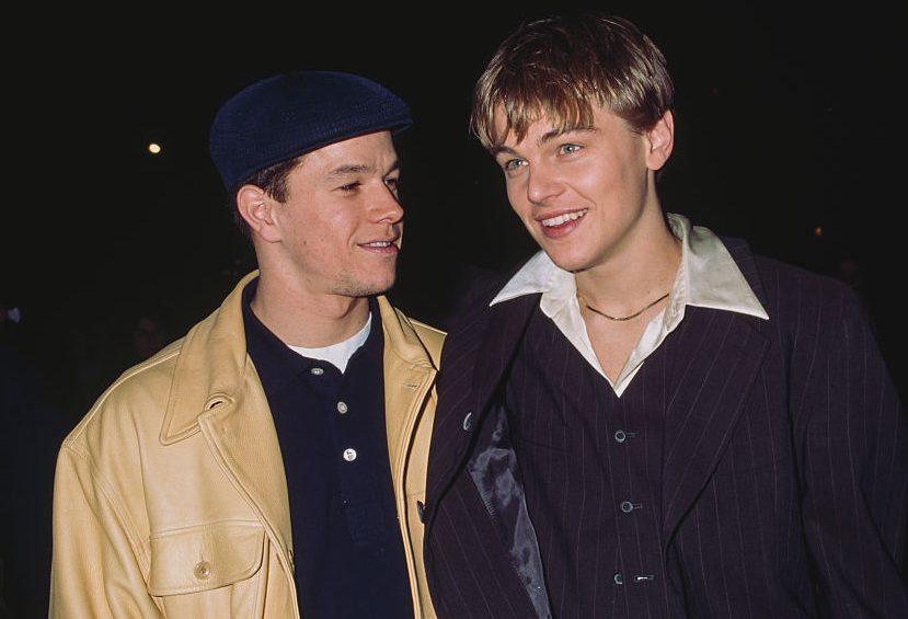 Mark Wahlberg and Leonardo DiCaprio in 90s