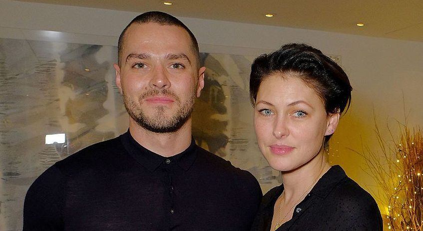 Matt Willis almost got in trouble with his wife Emma after 'naked' glamour model followed him on Twitter