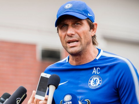 Antonio Conte's brother posts defiant picture from Chelsea training