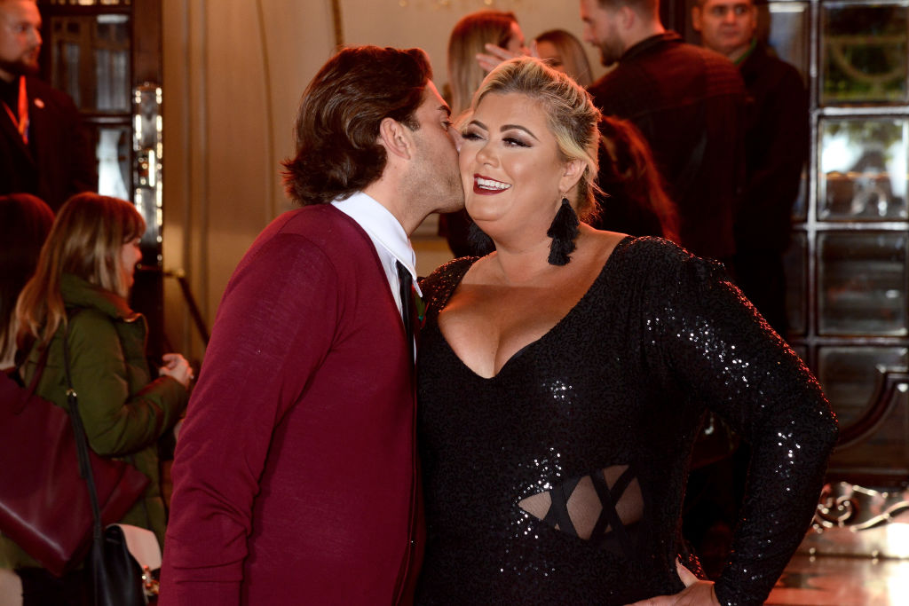 Gemma Collins and James Argent have huge row on Living with Lucy as she declares: 'He doesn't love me'