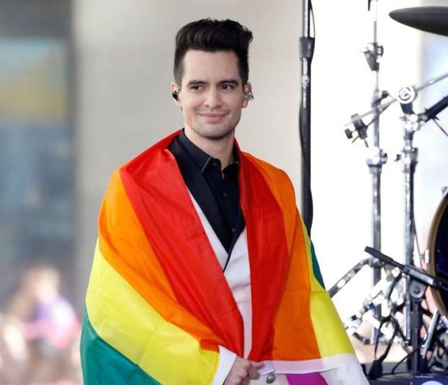 1314af5f Brendon Urie has revealed that he is pansexual (Picture: WireImage). Panic!
