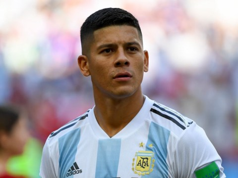 Paris Saint-Germain join race to sign Everton target Marcos Rojo from Manchester United