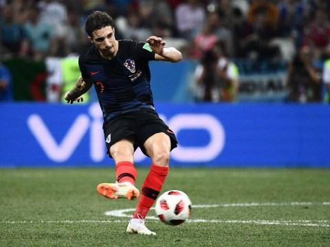 Croatia right-back Sime Vrsaljko 'ruled out' of England showdown with knee injury