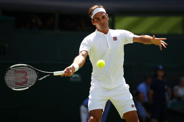 90399bd0d735 Roger Federer reveals RF logo and shoes situation after ditching ...