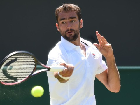 'Very confident' Marin Cilic sends message to Wimbledon rivals with thumping first-round win