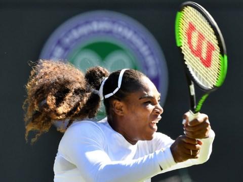 Serena Williams extends impressive Wimbledon win streak on 2018 return