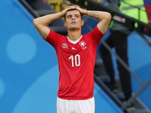 Phil Neville rips into 'fake' Granit Xhaka for costing Switzerland against Sweden