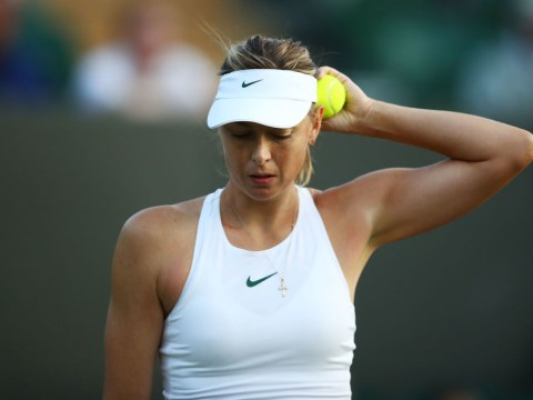 Maria Sharapova speaks out after shock Wimbledon exit