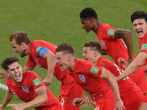 What TV channel is England v Sweden World Cup quarter final match on and what time?
