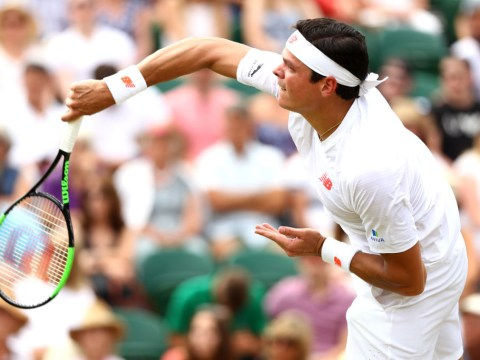 Wimbledon 2018: Milos Raonic almost floors John Millman with 147 mph serve
