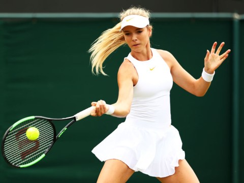 Spirited Katie Boulter falls to 18th seed Naomi Osaka at Wimbledon