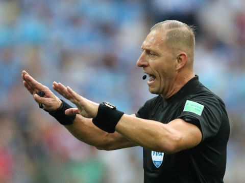 Who is the referee for the World Cup final and where is he from?